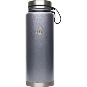 MIZU V12 Insulated Bottle with V-Lid 1080ml Gray Hammer Paint